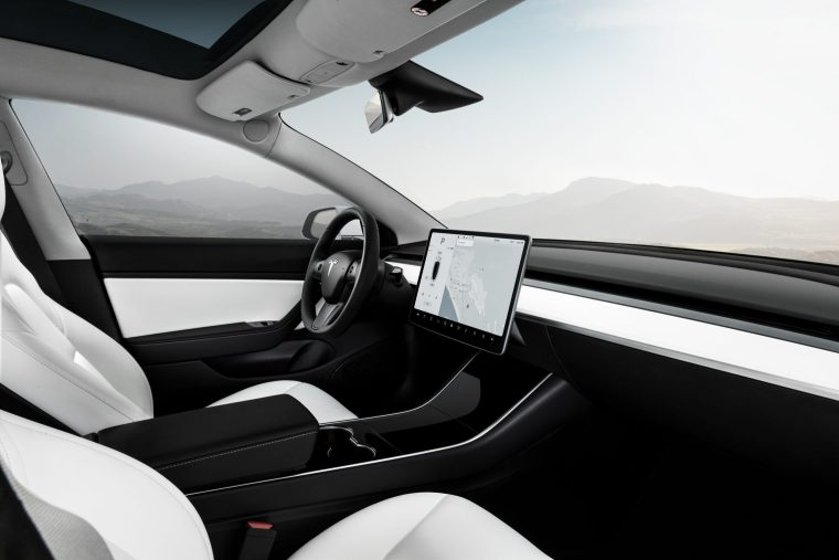Model 3 Performance - White Interior - Touchscreen