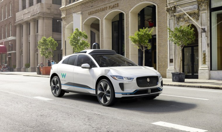 Waymo Jaguar Self Driving SUV