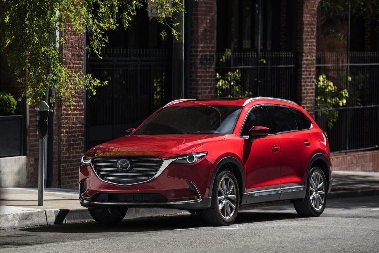 2018-Mazda-CX-9-Exterior-Front-and-Side