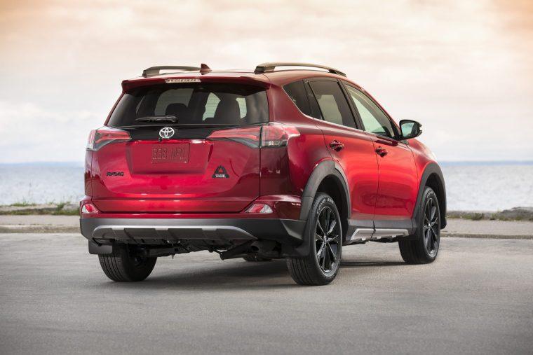 2018 Toyota RAV4 - Exterior Rear