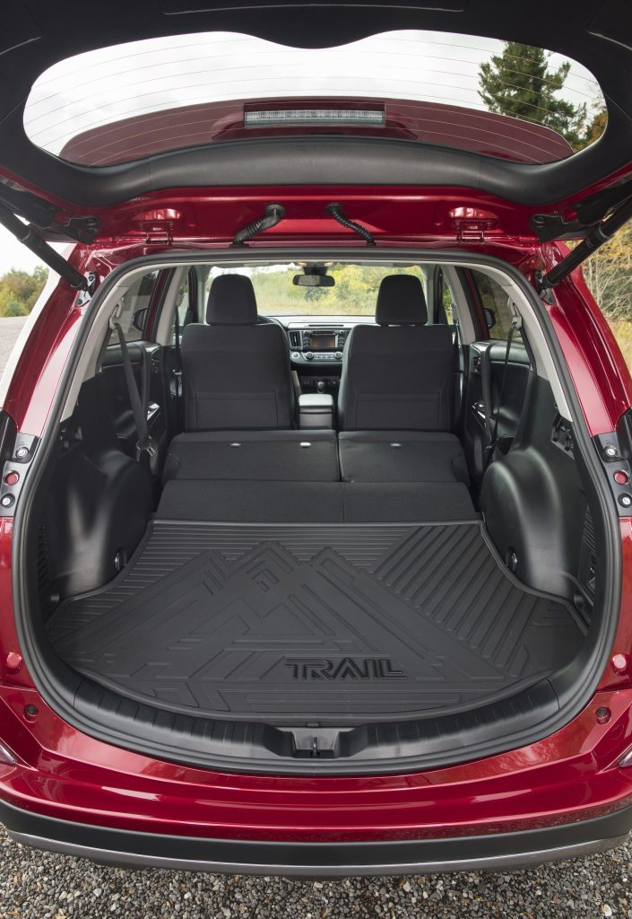 2018 Toyota RAV4 - Interior Rear Seats Folded