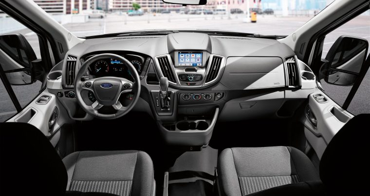 2019 Ford Transit Passenger Van interior full IP