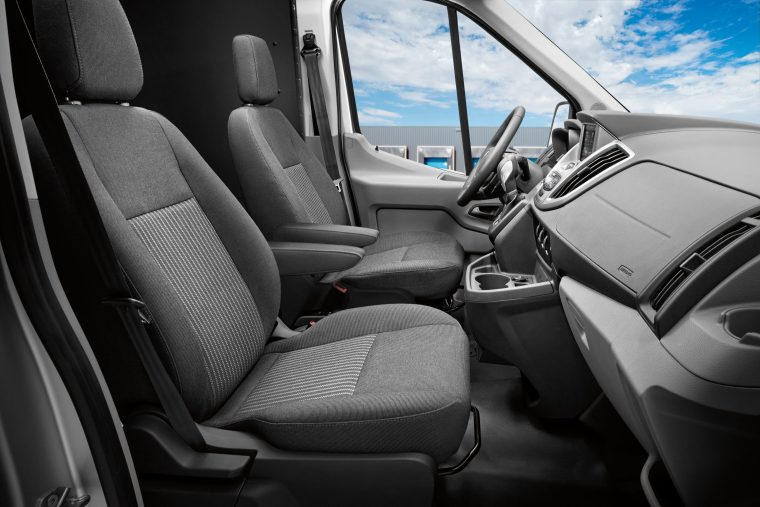 2019 Ford Transit Cargo Van interior front row