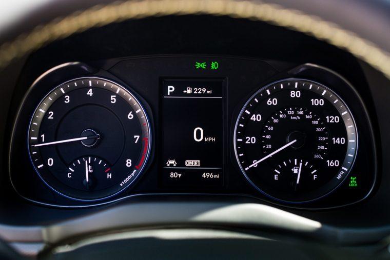 2018 Hyundai KONA - Interior Instrument Cluster