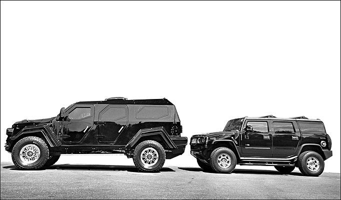 Conquest Vehicles - Hummer Comparison