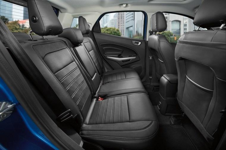 2018 Ford EcoSport interior