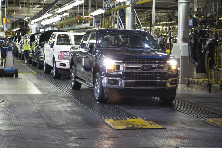 F-150 Rolls off the Line