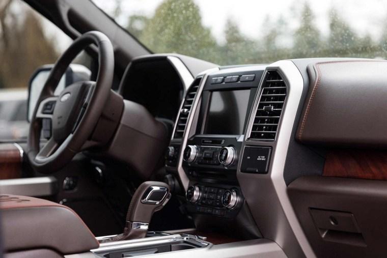 2018 Ford F150 Diesel Power Stroke - Interior