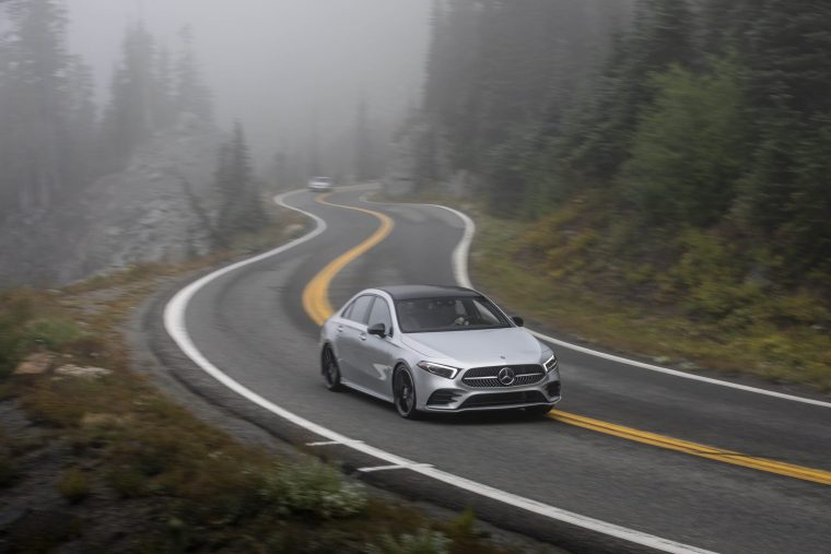 2019-Mercedes-Benz-A-220-Driving