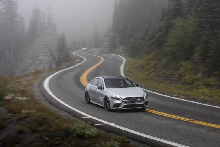 2019-Mercedes-Benz-A-220-Driving