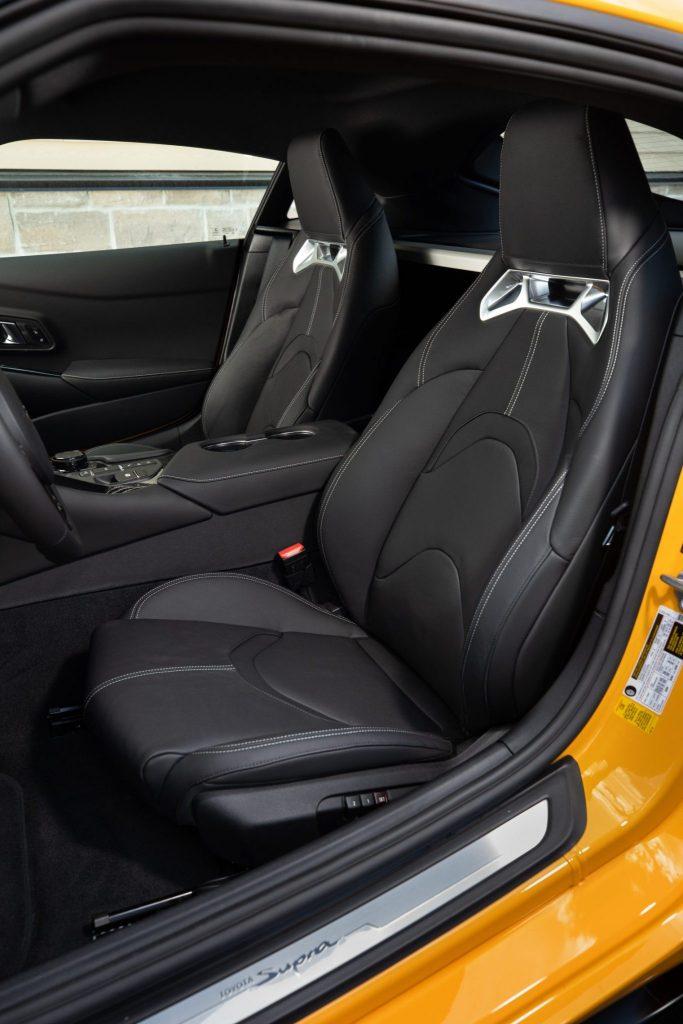 2020 Toyota Supra - Interior Front Seats