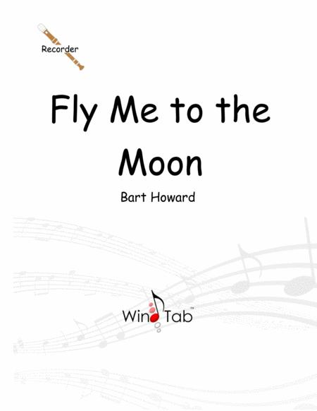 Fly Me To The Moon Recorder Sheet Music Tab Music Sheet