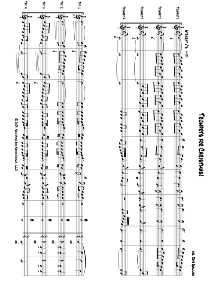 Trumpets For Christmas Music Sheet Download