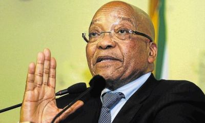 Protests greet Jacob Zuma's 75 birthday
