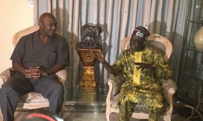 Tinubu dodges Holyfield's punches at Lagos event