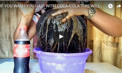 Video on Washing your Hair with Coca-Cola rakes 1 Million Views!