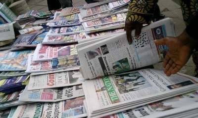 10 things to note from Nigerian Newspapers this Friday morning