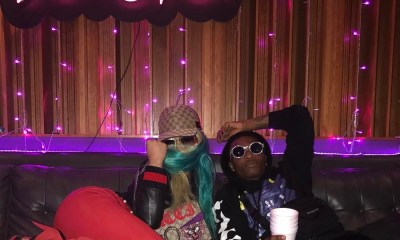 Nicki Minaj strikes a pose with Wizkid in new Photo