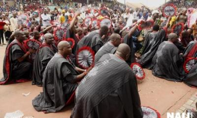 Ijebu Sons And Daughters Defy Rain To Attend 'Ojude-Oba' Festival
