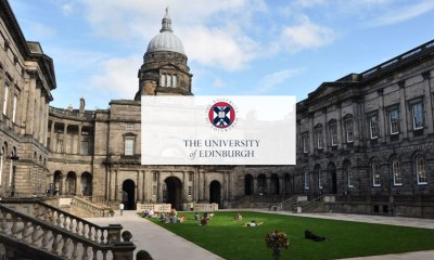 Apply: Edinburgh Global Undergraduate Mathematics Scholarships At University Of Edinburgh, UK