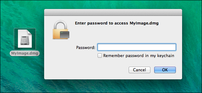 create encrypted dmg file mac
