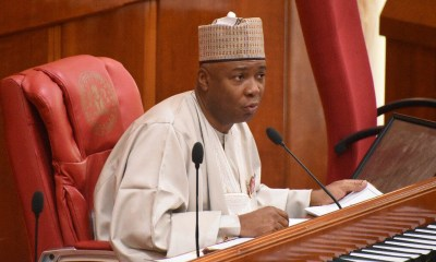 Saraki condemns Buhari's approval of $1bn for security equipment