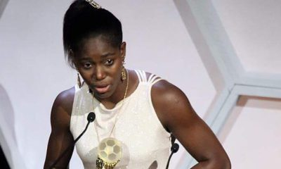 Asisat Oshoala Wins Third Female African Player Of The Year Award