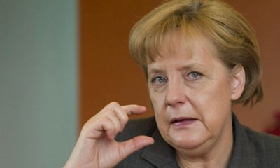 German Chancellor Merkel 'Optimistic' Coalition Talks Will Achieve Result