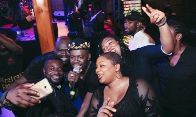 Adekunle Gold rocks! Johnnie, Jazz & Whisky was an Amazing Night of Fun, Afro-Jazz Music & Whisky | Photos