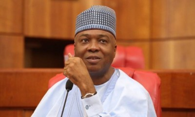 Why either Ndume or Lawan will take over from me - Saraki