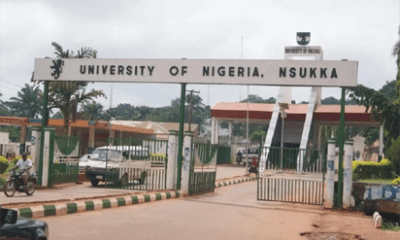 Revealed: University Of Nigeria Nsukka(UNN)  Postgraduate Courses And Requirements