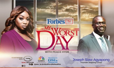 10 Success Secrets of Billionaire Joseph Siaw Agyapong on 'My Worst Day with Peace Hyde' | Watch!
