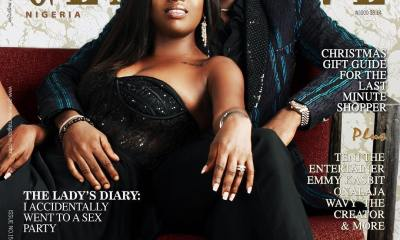 2Baba & Annie talk Love, Insecurities & blending Family in Genevieve's December Issue!