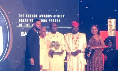 Zainab Balogun, Simi, Ahmed Musa, Samson Itodo win at The Future Awards Africa 2018 | See Full List