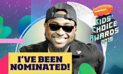 Davido, Adesua, IK Osakioduwa nominated for Nickelodeon Awards