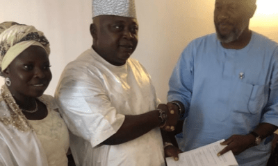 Adebutu and Amosun's candidate agree on power-sharing formula
