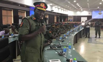 'This time, Soldiers will be tough' - Buratai hints 'election riggers'