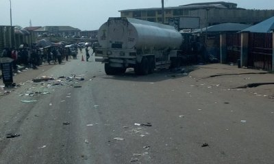 Tears as trailer crushes three persons to death in Ogun-TopNaija.ng