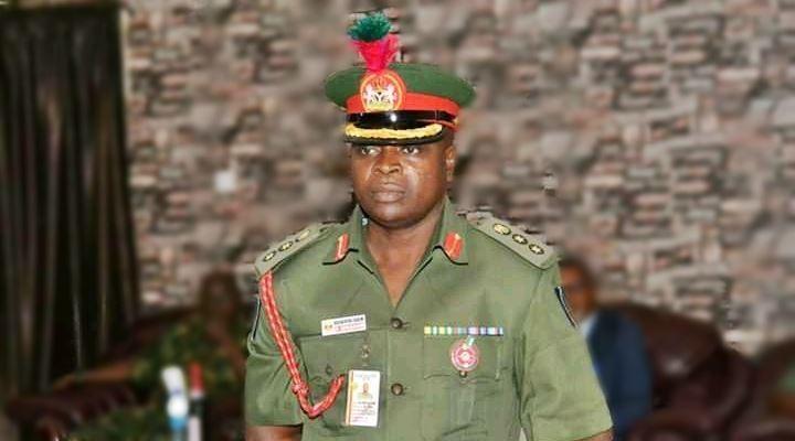 Maj. Gen. Shuaibu Ibrahim, DG, NYSC. Photo: TopNaija