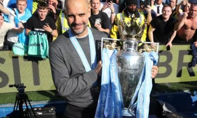Guardiola Wins Premier League Manager Of The Season!