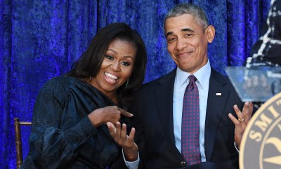 Obamas sign podcast production deal with Spotify
