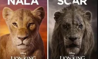 Live-action remake of 'Lion King' makes one billion dollars in 3-weeks