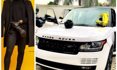 Celebrity stylist, Swanky Jerry gets range rover for his birthday