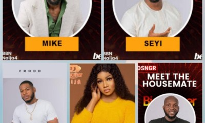 #BBNaija: Seyi up for eviction with four others after failing to use veto power