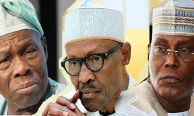 Buhari planning to silence Obasanjo with crime accusation - Atiku