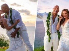 Dwayne Johnson marries long time girlfriend