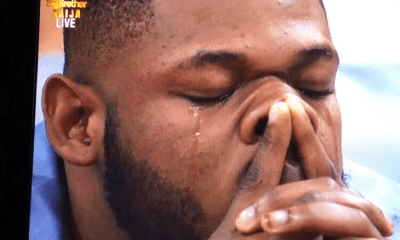 Frodd cries as Esther is evicted