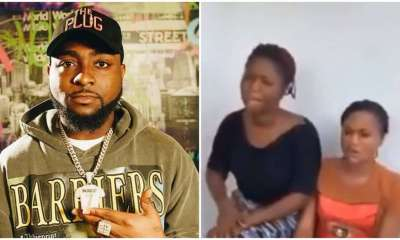 Davido and ladies who accused him