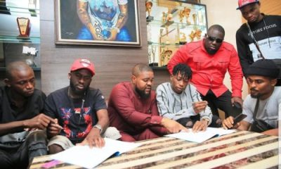 Lil Frosh joins DMW, signs record deal
