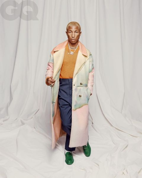 """Pharrell Williams rocks GQ's """"The New Masculinity"""" Issue 
